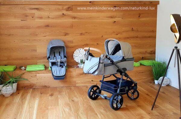 Naturkind Kinderwagen Lux Siebenschläfer