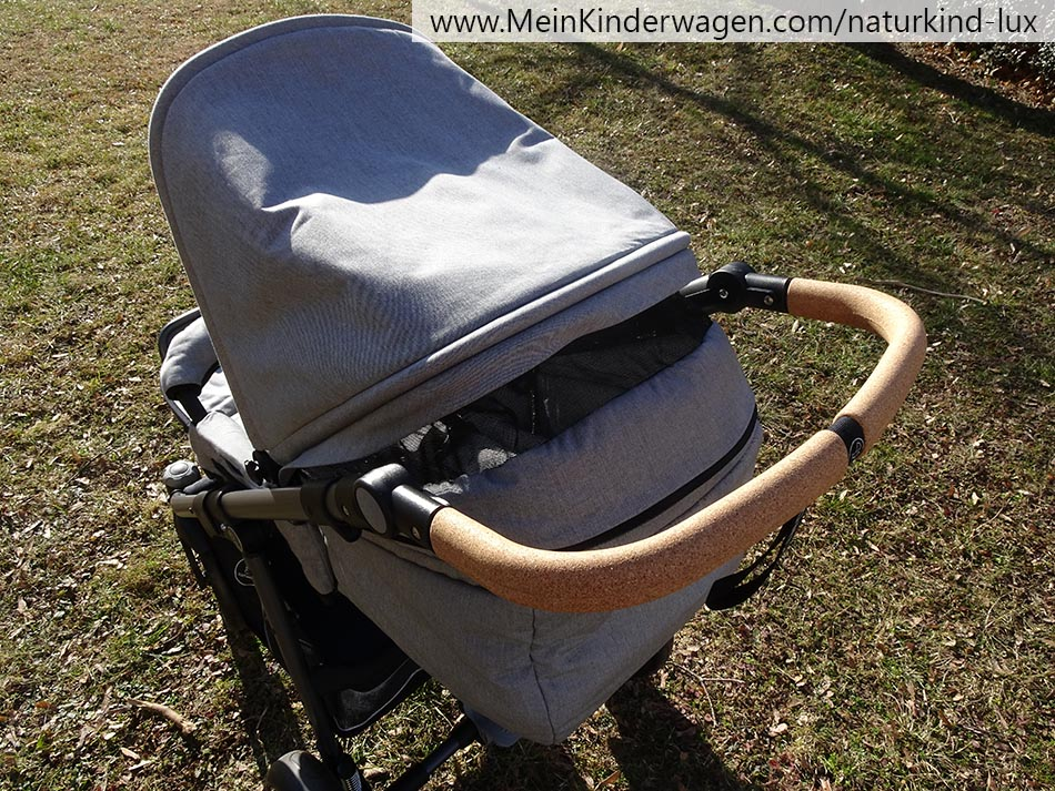 Verdeck Sportwagenaufsatz Naturkind Lux