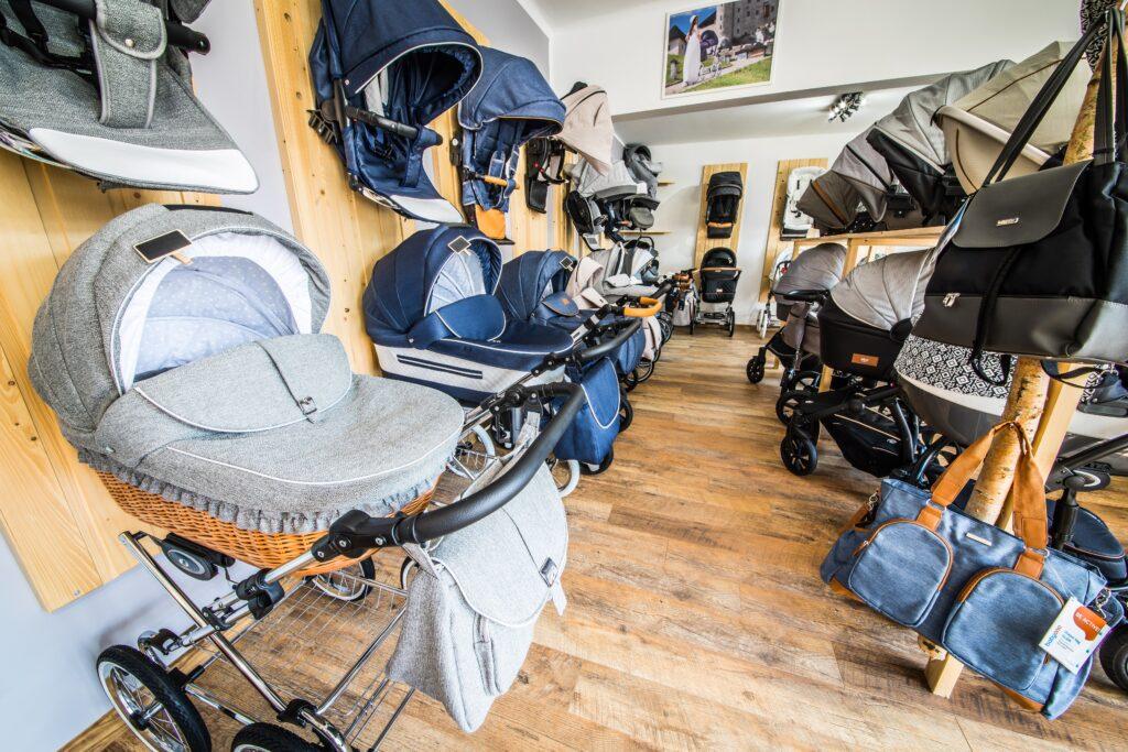 Showroom, kinderwagen, fachgeschäft, laden. geschäft, babybedarf, wien, wien umgebung