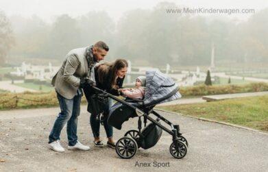 Anex Kinderwagen mit Kind