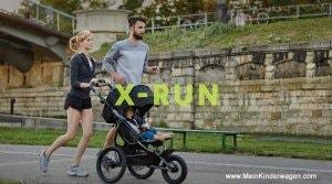 X-Run, Mutter beim Joggen