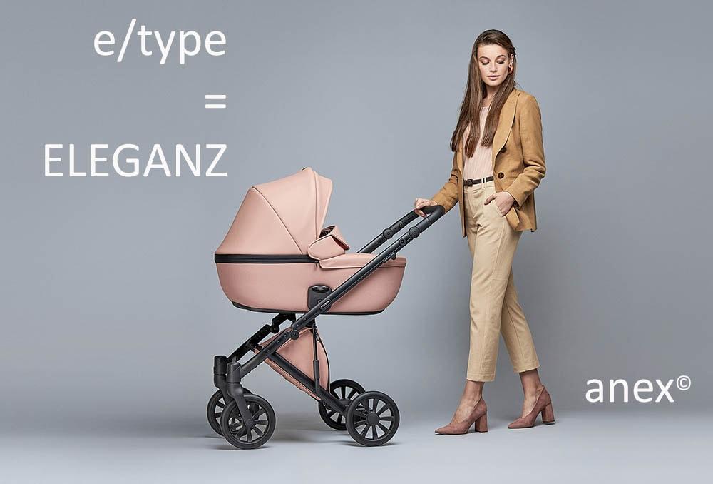 Anex e Type Kinderwagen modern