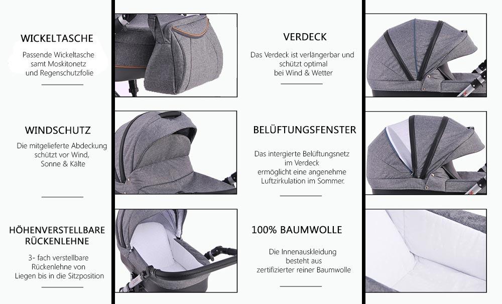 Prestige Comfort Babywanne Funktionen