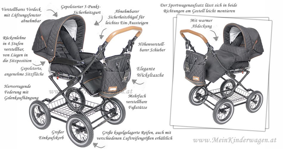 Classico Sofia Kinderwagen