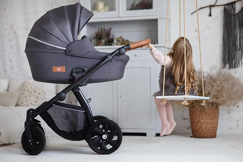 Aero Tutis Details Kinderwagen