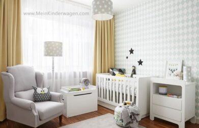 Babyzimmer Wolke