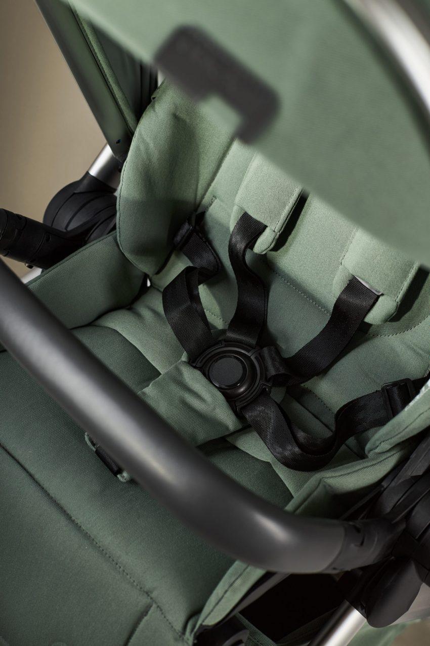 anex l/type kinderwagen: SPORTISITZ: Angenehm gepolsterte Sitzfläche für besten Komfort unterwegs