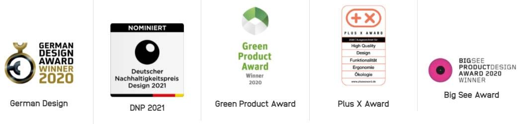 Auszeichnungen lux preise naturkind german design award green product