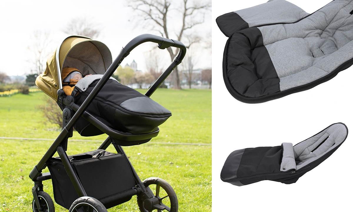 Beqooni Fußsack für Kinderwagen