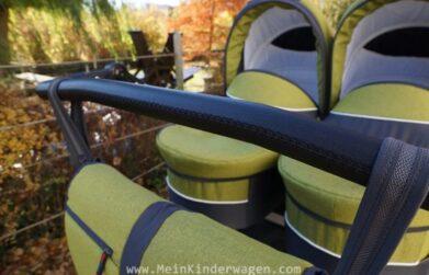 Twin Linen Kinderwagen