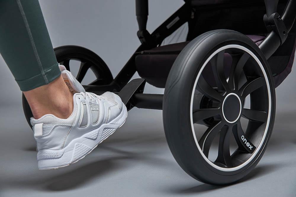 Pannensichere Reifen in Kombination mit einer zuverlässigen Bremse