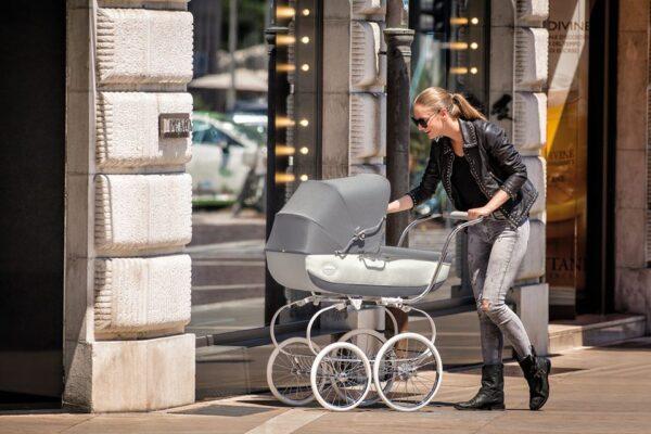 inglesina classica kinderwagen klassisch luxus retro