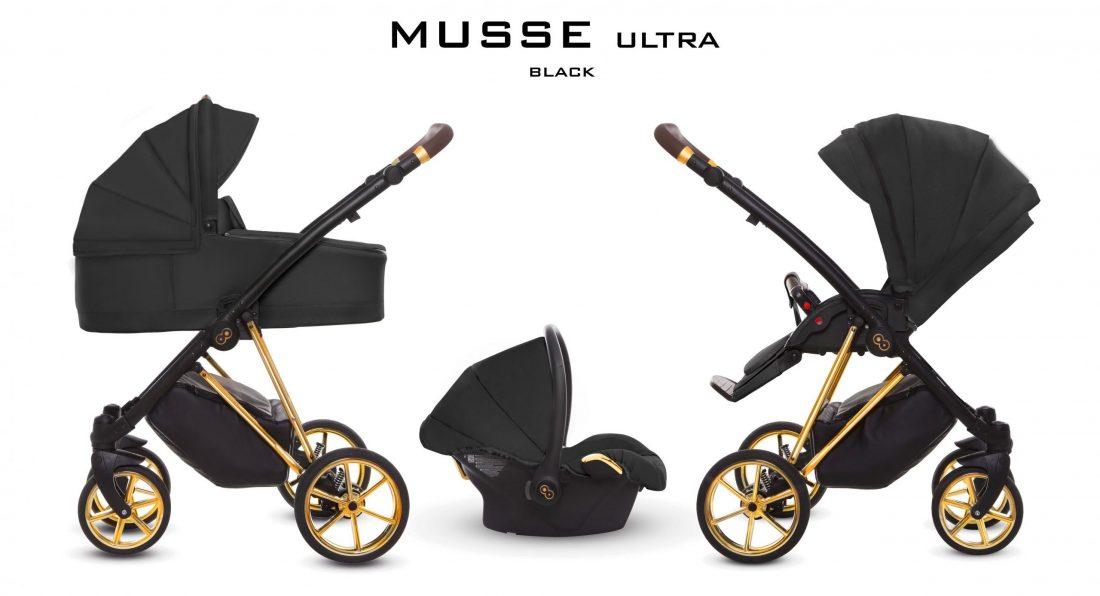 Kinderwagen mit Babywanne | Sportsitz | OPTIONAL: kompatibel auch mit Autoschale