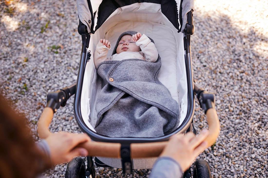 Naturkind Lux Babywanne Babykorb Kinderwagen bio