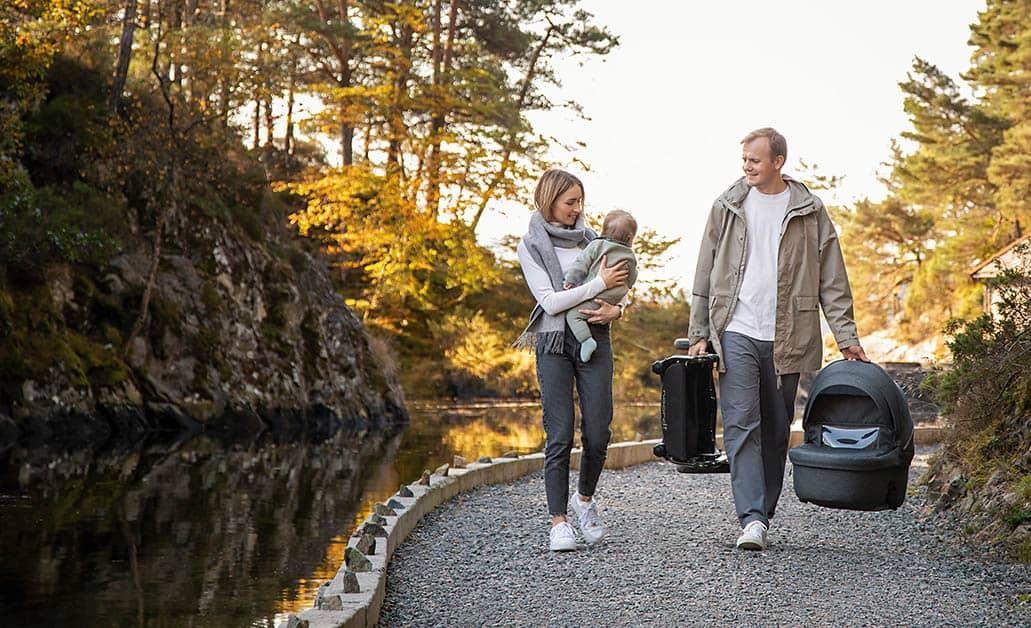 Praktisch: Noordi Fjordi ist leicht zum transportieren dank seines geringem Gewichtes