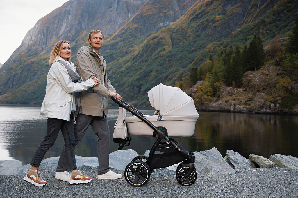 Noordi fjordi kinderwagen