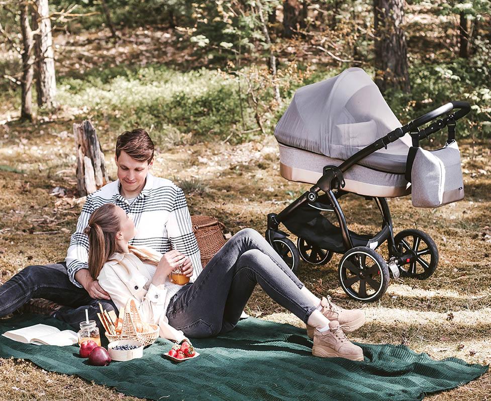 Noordi SOLE GO Kinderwagen. Für Familenausflüge geschaffen