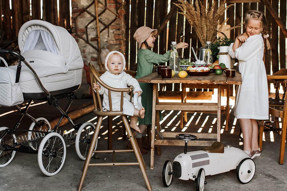 Marita Deluxe Kinderwagen retro nostalgie romantik