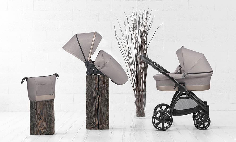 Noordi SOLE GO Kinderwagen. KOMBI SET mit Babywanne und Sportsitz