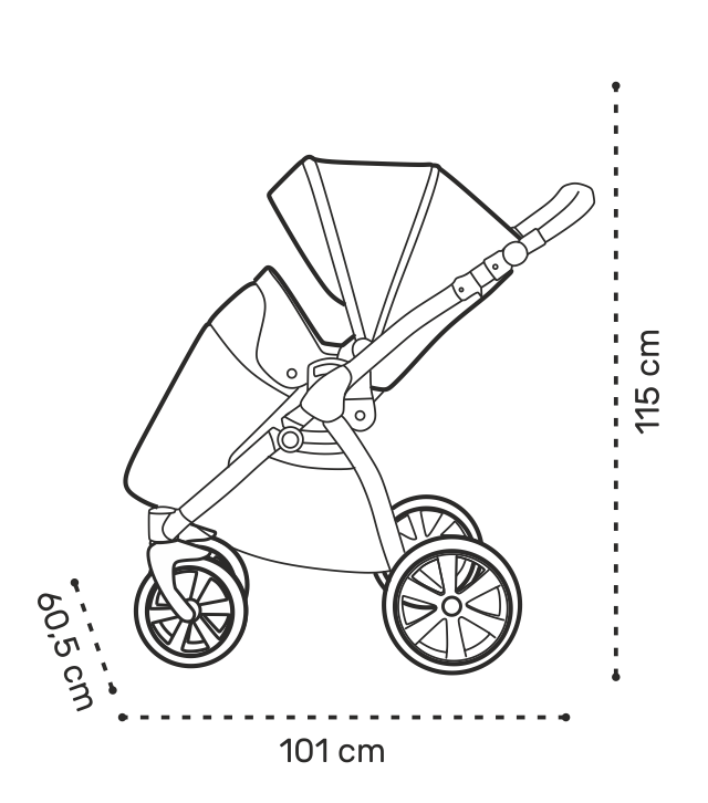 Noordi SOLE GO Kinderwagen