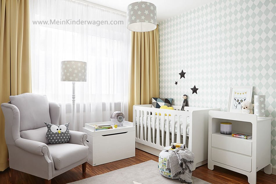 Kinderzimmer Wolke
