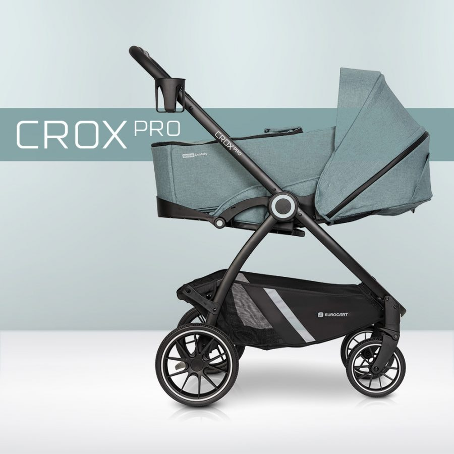 crox pro kinderwagen: CROX PRO mit SOFT-Tragetasche