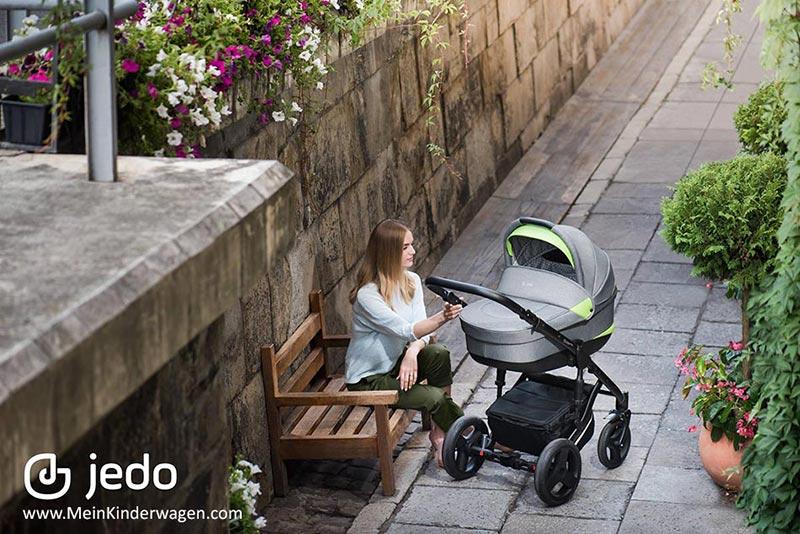 Jedo Koda Kinderwagen: Perfekt für Stadt und Gelände