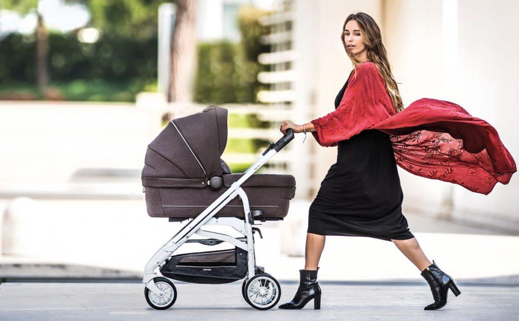Trilogy Inglesina Kinderwagen mit Babywanne