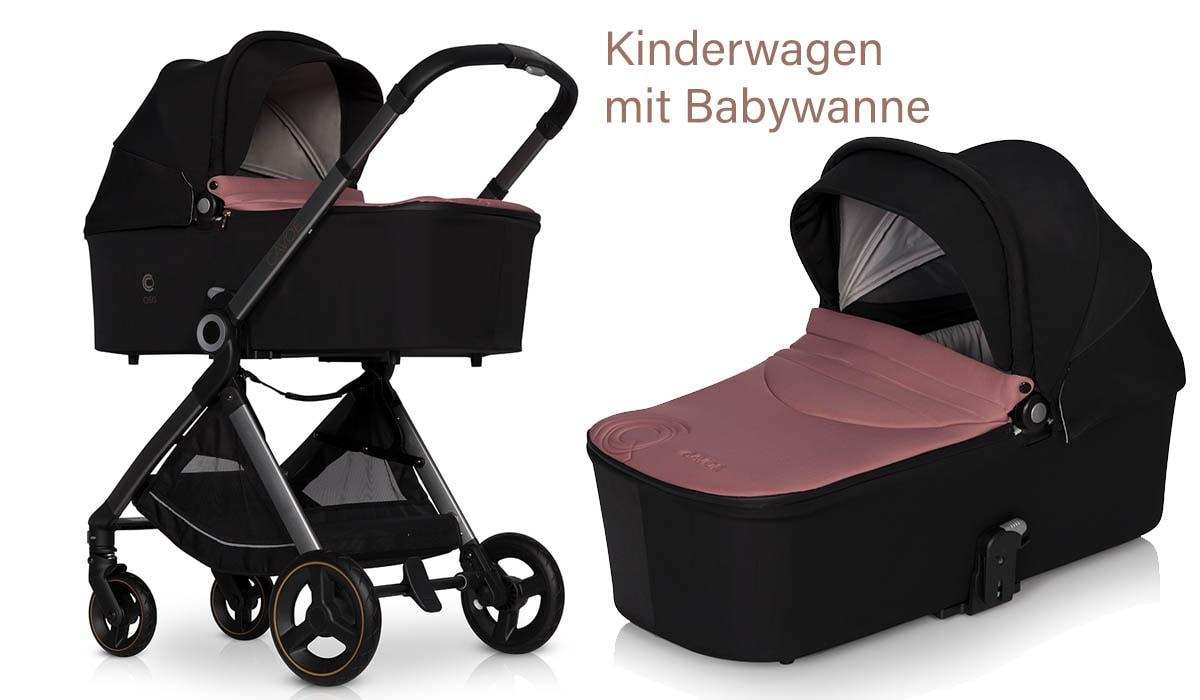Cavoe osis Kinderwagen mit Babywanne