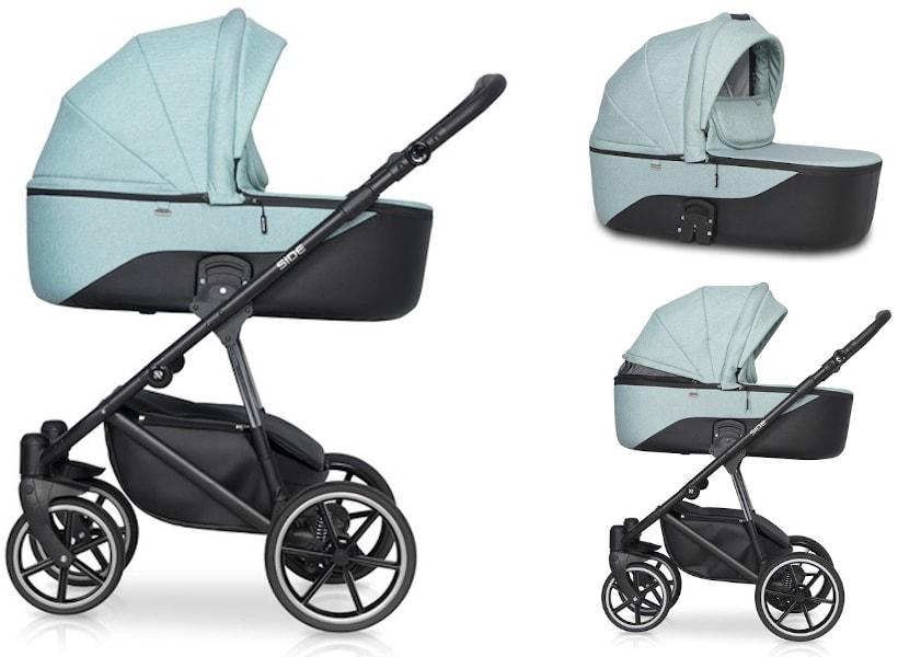 classico side kinderwagen babywanne