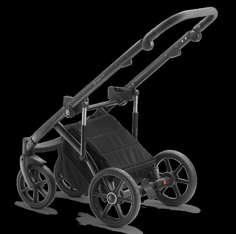 Gestell Kinderwagen Tamel: Geländegängiges Gestell mit großen Reifen