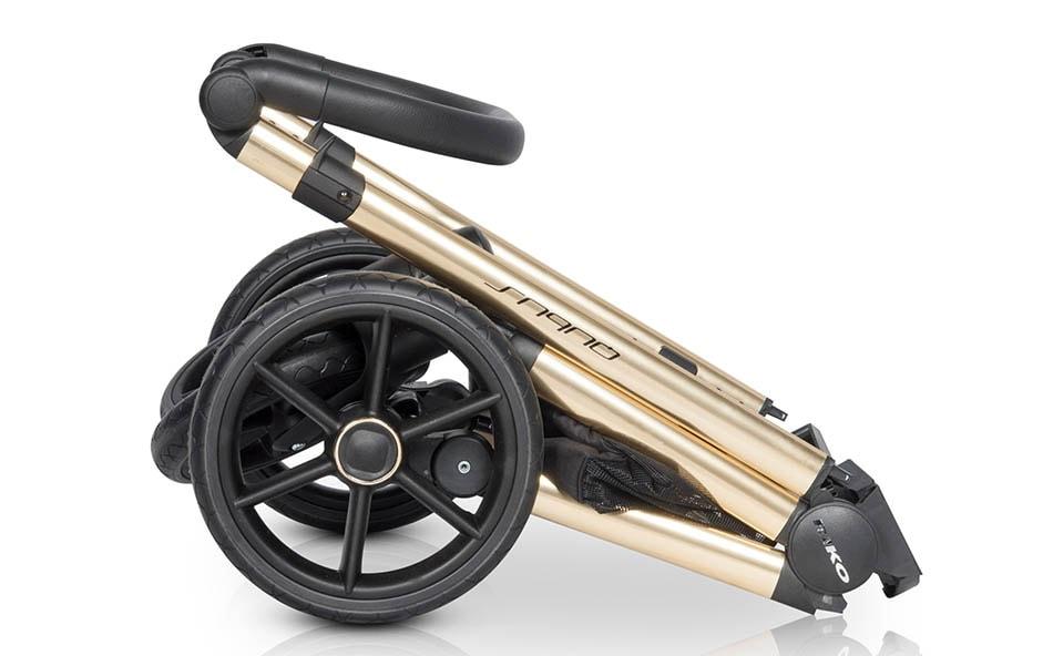 classico qubuz kinderwagen gold