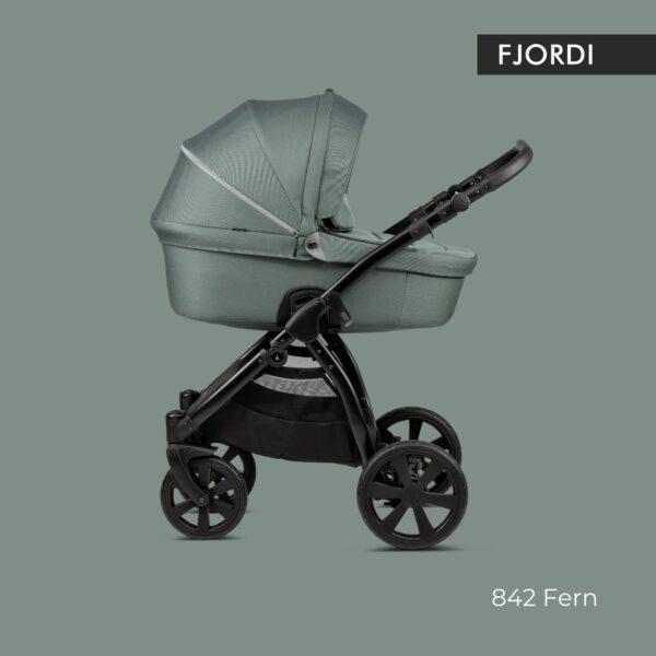 Noordi FJORDI Kinderwagen stoff grün