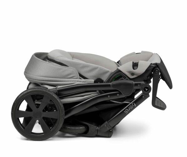 Noordi Fjordi Kinderwagen Gestell, Alu Rahmen mit Sportwagen