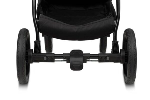 Noordi Fjordi Kinderwagen Gestell, Alu Rahmen